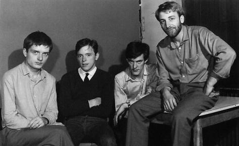 Sumner (Second Left) And The Rest Of Joy Division