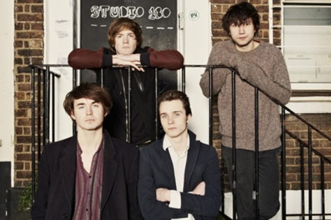 Palma Violets Outside Studio 180, Where They Recorded Their Raucous Debut '180'.