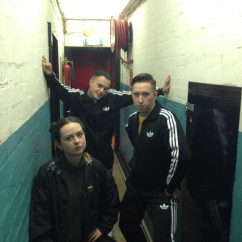 An Adidas World - Katie With The Slaves Lads
