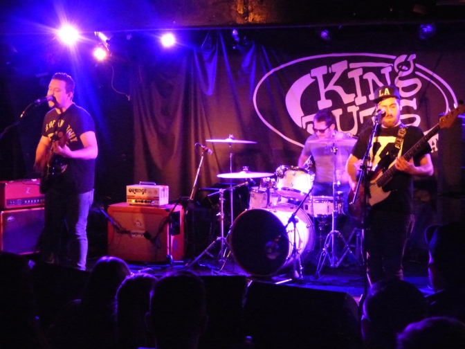 Live: Dirty Sally @ King Tut's, Glasgow, 21/05/2015