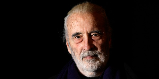 The Spirit of Metal Fades: Christopher Lee Dies, Aged 93