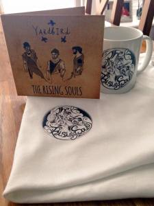 The Rising Souls marketed and merchandised their album launch superbly.
