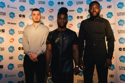 Edinburgh trio Young Fathers won the award in 2014 for Tape Two and are nominated again.